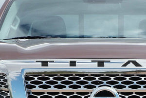 Premium Cast Vinyl Decal Inserts for 2016-2019 Nissan Titan Grille