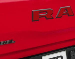 Premium Cast Vinyl Decals for 2019-2020 RAM Rebel Tailgate - TVD Vinyl Decals