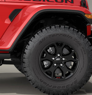 Premium Cast Vinyl Overlay Decals for 2018-2020 Wrangler/Gladiator Rubicon Wheels TVD Vinyl Decals
