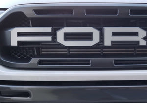 "Premium Cast Vinyl Decals for 2019-2020 Ranger ""Raptor""-style Grille - TVD Vinyl Decals"