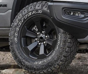 Premium Cast Vinyl Overlay Decals for 2019-2020 RAM Rebel Wheels TVD Vinyl Decals