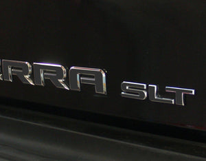 Premium Cast Vinyl Decals for 2019-2020 SIERRA Doors and Tailgate TVD Vinyl Decals