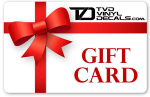 TVD Gift Card Gift Card TVD Vinyl Decals