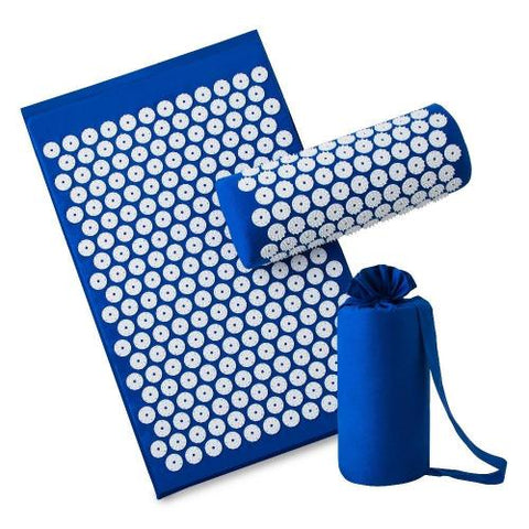 Acupressure Mat & Pillow | Relieve Body Stress | FREE YOGA BAG