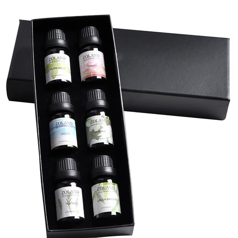 Aromatherapy Essential Oils | 6pc | For Humidifier | Water Soluble