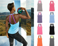 Women's double back strap sports vest