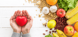 What are some heart healthy foods?