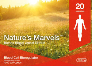 Nature's Marvels – Blood Cells Bioregulator with Ventfort 20 Caps