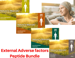 External Adverse factors Peptide Bundle- A-6 Vladonix A-7 Svetinorm A-8 Endoluten A-20 Bonomarlot