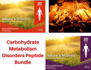 Carbohydrate metabolism disorders Peptide Bundle - A-1 Suprefort A-3 Ventfort