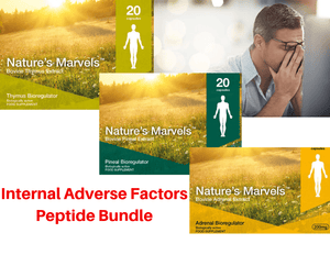 Internal Adverse factors  Peptide Bundle - A-6 Vladonix A-8 Endoluten A-17 Glandokort