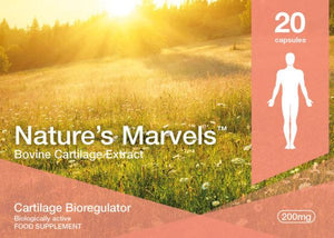Nature's Marvels – Cartilage Bioregulator with Sigumir 20 Caps