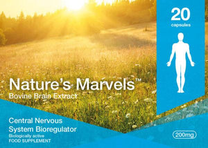 Nature's Marvels – Central Nervous System Bioregulator with Cerluten 20 Caps
