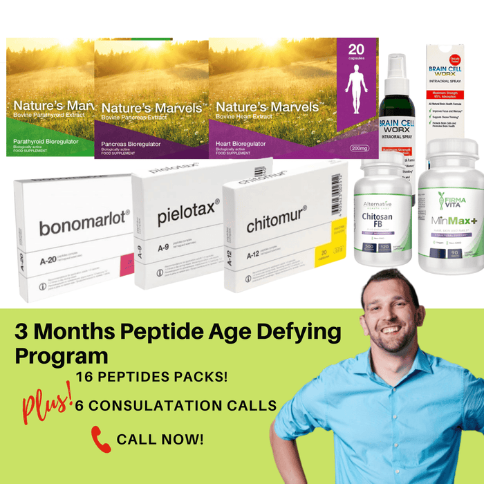 Highway to Health - 3 Month Age Defying Program (16 Peptdes)