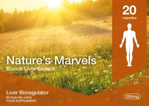 Nature's Marvels – Liver Bioregulator with Svetinorm 20 Caps
