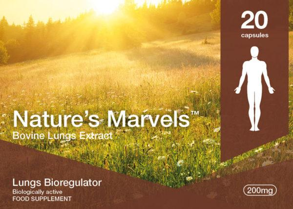 Nature's Marvels – Lungs Bioregulator with Taxorest 20 Caps