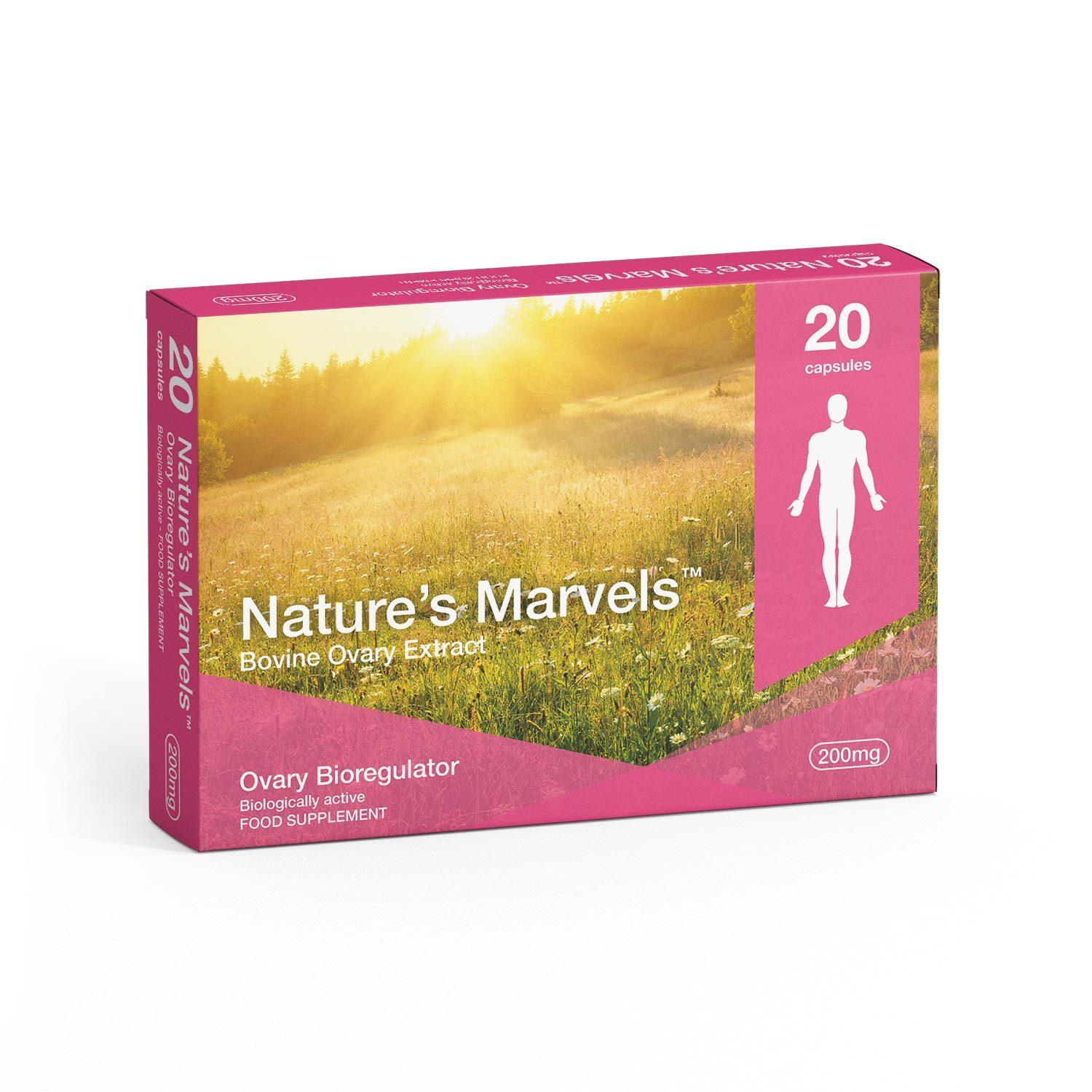 Nature's Marvels – Ovary Bioregulator with Zhenoluten 20 Caps