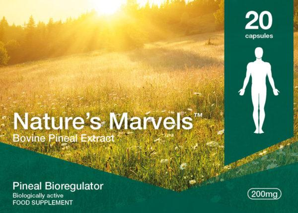 Nature's Marvels – Pineal Bioregulator with Endoluten 20 Caps