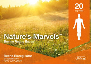 Nature's Marvels – Retina Bioregulator with Visoluten 20 Caps