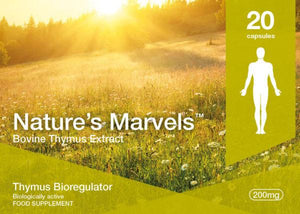 Nature's Marvels – Thymus Bioregulator with Vladonix 20 Caps