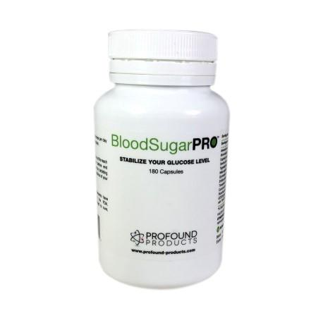 Blood Sugar Pro™ 180 Capsules by Profound Products (Contains FenFuro Pro and GCB70)