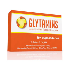 Glytamins: Glytamins: Liver, Gallbladder and Kidney Detox (10 Suppositories)