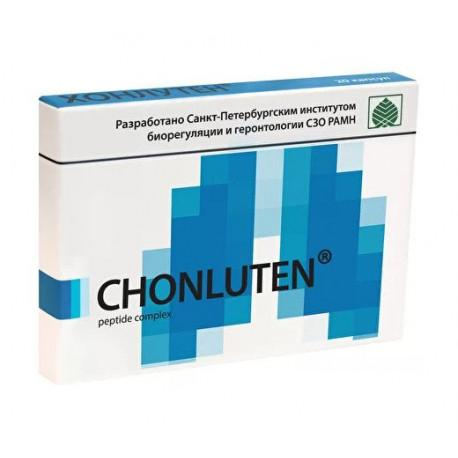 Lung and Bronchial Mucosa Bioregulator (Chonluten®) - 20 Caps