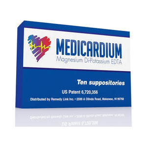Medicardium: Heavy Metal and Calcification Detox (10 Suppositories)