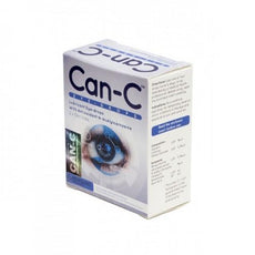 Can-C Lubricant Eye Drops with N-Acetylcarnosine, 2 x 5 ml Vials
