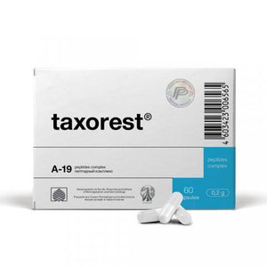 Taxorest® - A-19 Lung Peptide Bioregulator - 20 Capsules