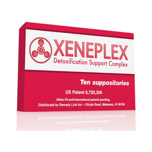 Xeneplex: Detoxification Support Complex (10 Suppositories)