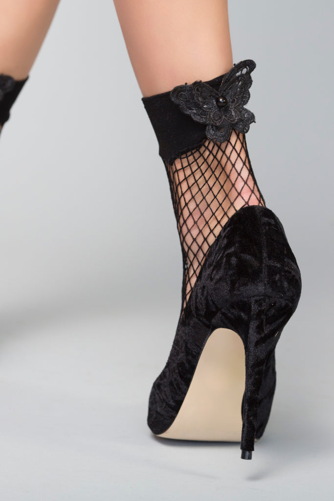 Butterfly Net Socks
