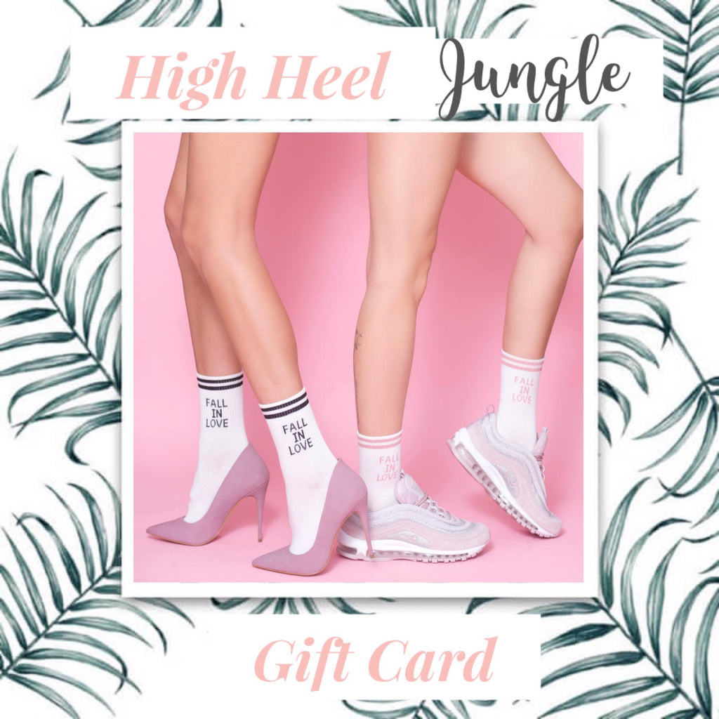 High Heel Jungle Gift Card