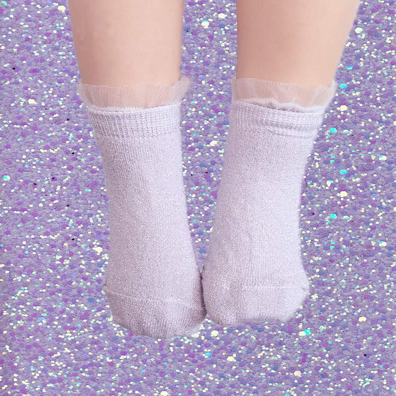 Shimmer Tulle Icing Socks - Mini (4 color-ways available)