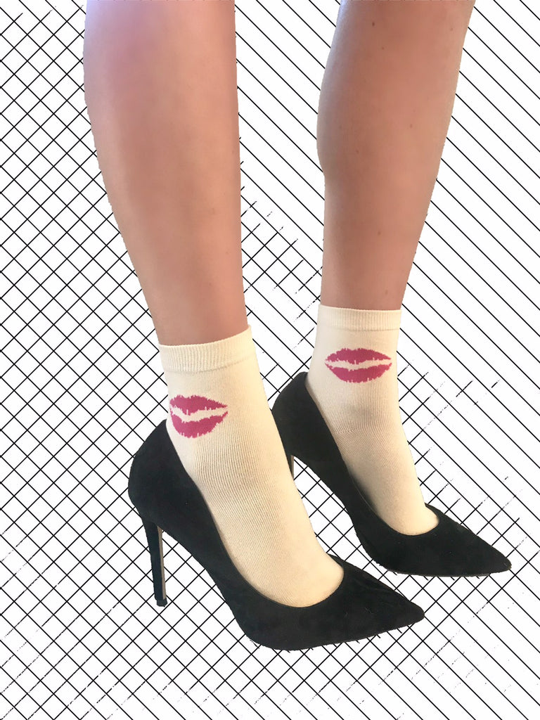 Bisous For Léo Kiss Socks