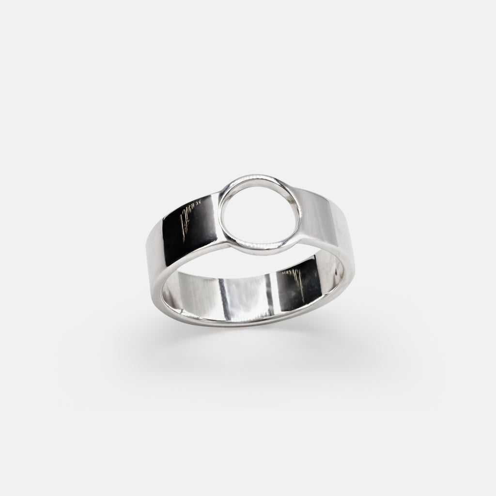 Cirlce Band Ring - Sustainable Fine Jewellery