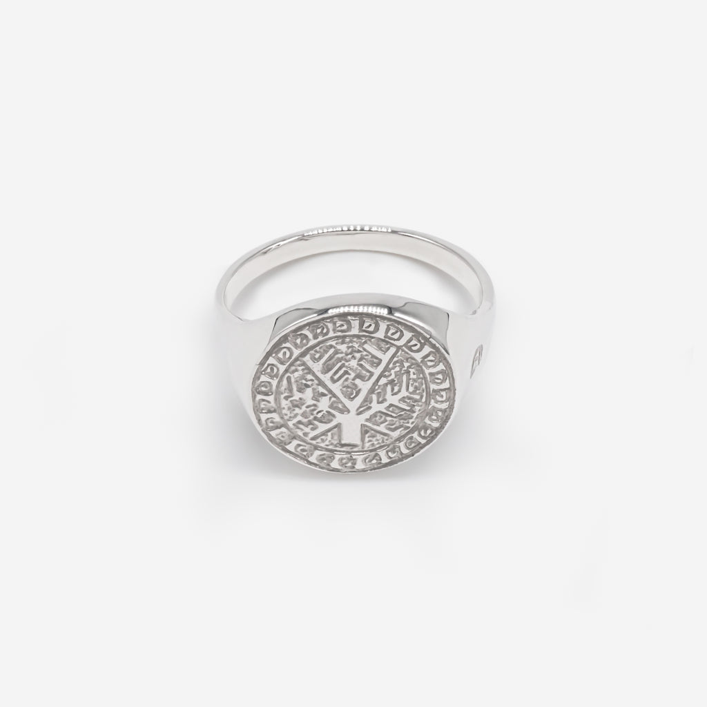 Crann - Carbon Negative Signet Ring