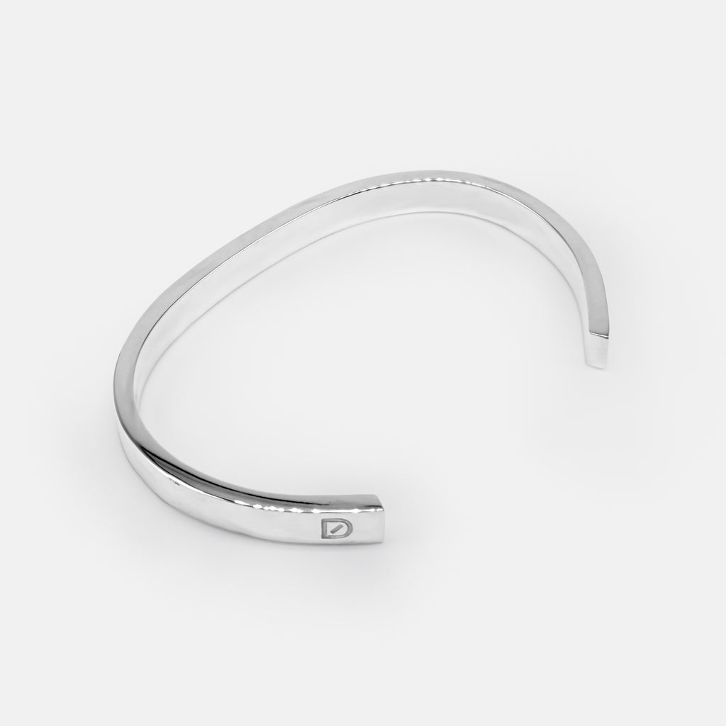 Láidir - Heavy Silver Bangle