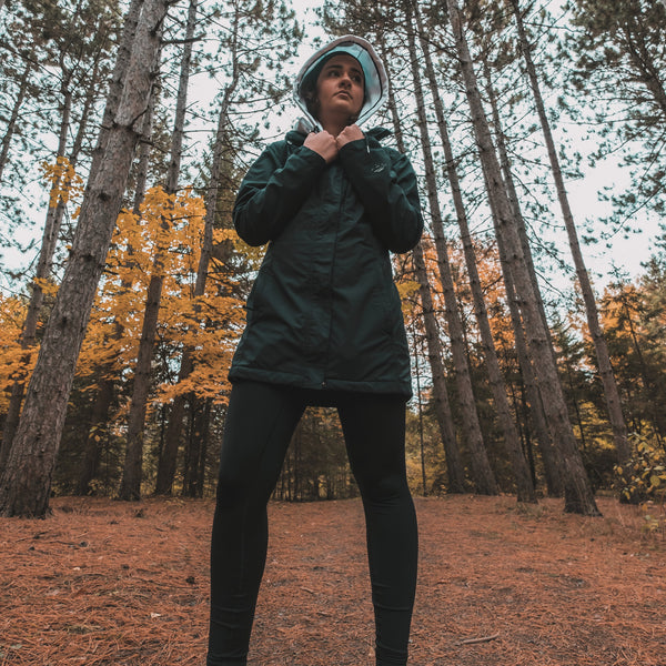 raingear hoodie by Canadian clothing brand Huuud Apparel
