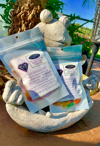 Vegan - CBD Infused Organic Fruity Bears 150MG 50pc 1/3 lb Bag All-Natural - Pristine CBD USA - 100% THC FREE - PURE, NATURAL, LEGAL CANNABINOID Products