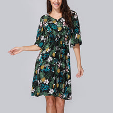 Load image into Gallery viewer, Springtime Floral Dress