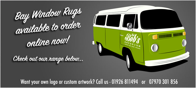 Bay window rugs available to order online below