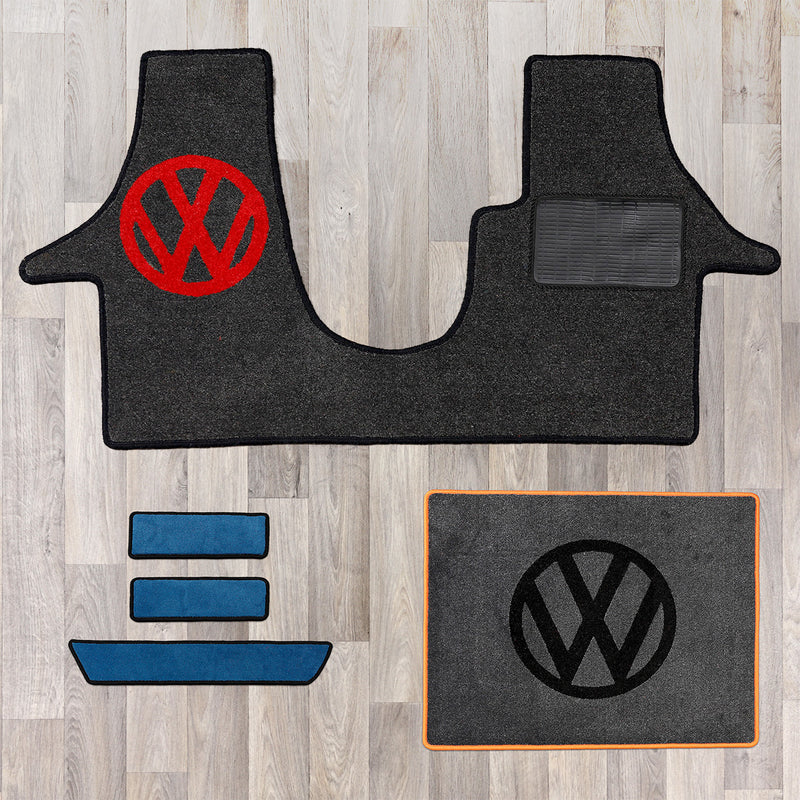 T5 Rug Set With Vw Logo Fat Bob S Emporium