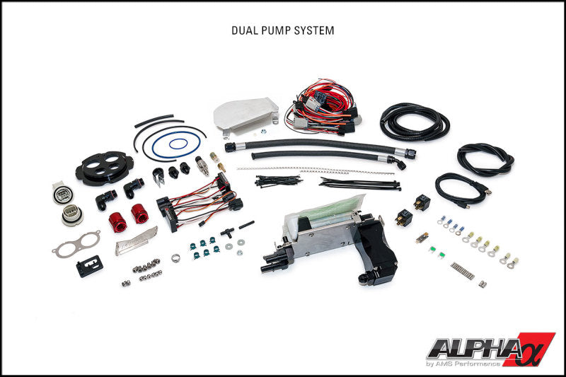 AMS Performance 2009+ Nissan GT-R R35 Omega Fuel System - Dual Pumps