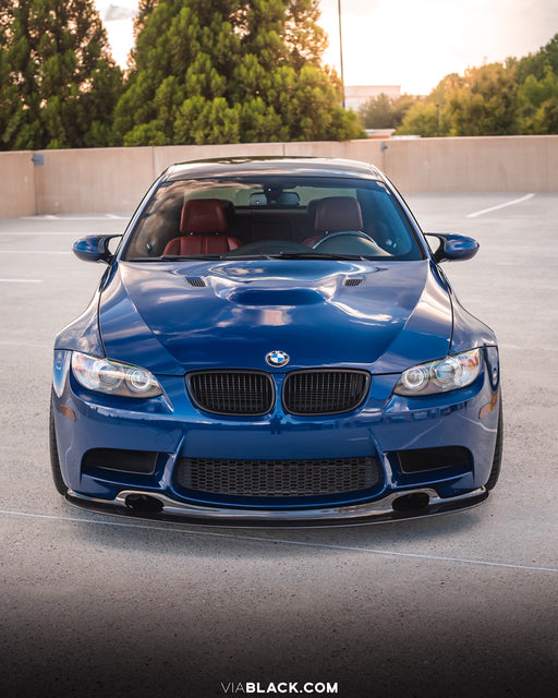 BMW E9X M3 GT4 LIP W/DUCTS