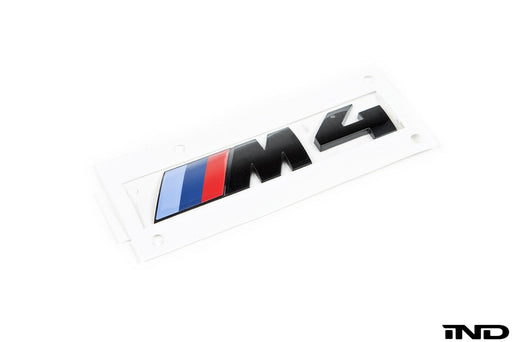 BMW F82 M4 Trunk Emblem - Gloss Black