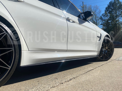 F8X M3 M4 Carbon Fiber Side Extensions