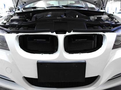 aFe MagnumFORCE Intakes Scoops AIS BMW 335i (E90/92/93) Black