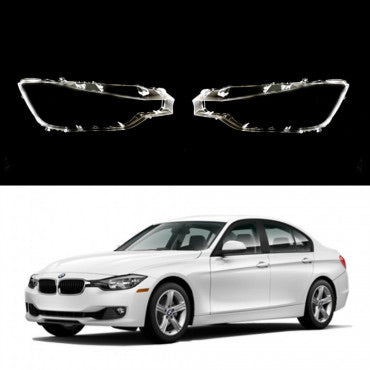 BMW 3 F30/F31 (2011-2015) - HEADLIGHT LENS PLASTIC COVERS
