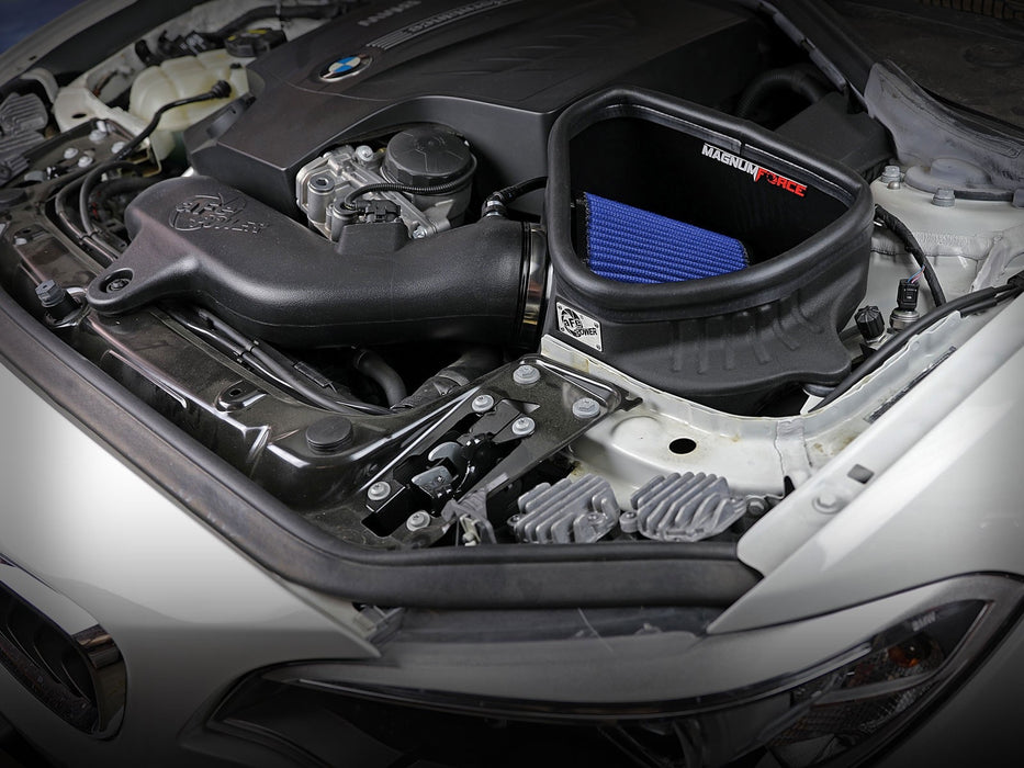 Magnum FORCE Stage-2 Cold Air Intake System w/ Pro 5R Filter 12-15 BMW 335i (F30) L6-3.0L (t) N55